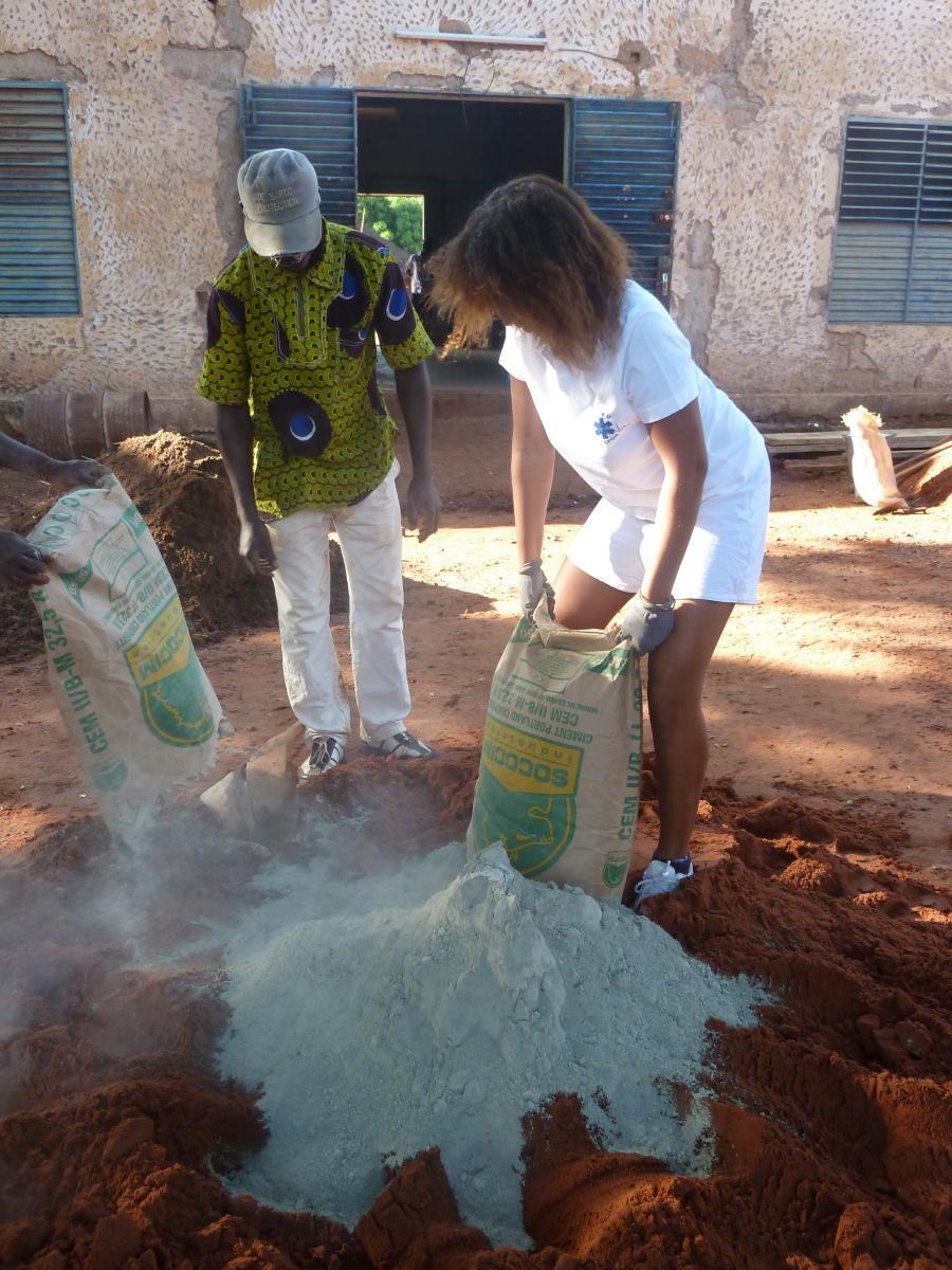 Les jeunes de Solidarité Afrique en mission au Burkina Faso